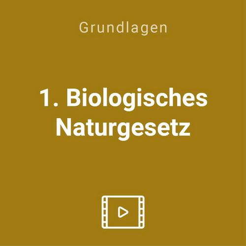 1 biologische naturgesetz vod