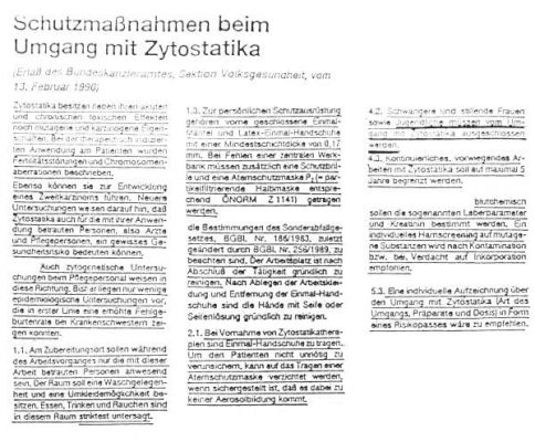 19900213 schutzmassnahmen chemo