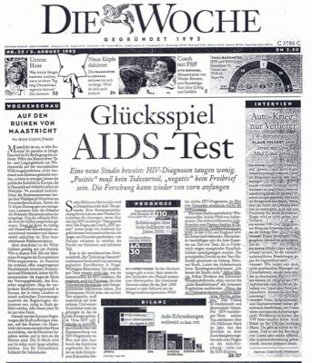 19930805 diewoche glueckspiel aidstest 1