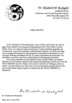 19950616 rozkydal erklaerung