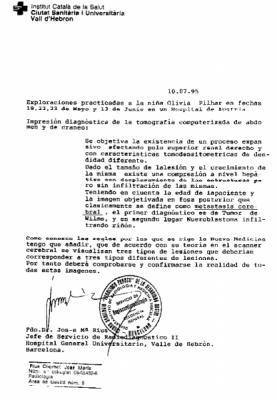 19950710 rius befund spanisch