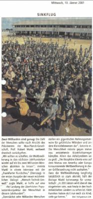 20010110 salzburgernachrichten sinkflug
