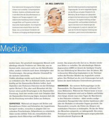 20061220 kurier zukunftmedizin 2