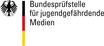 bundespruefstelle fuer jugendgefaehrdende medien logo