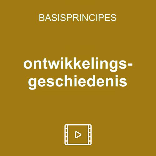 entwicklungsgeschichte vod nl