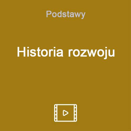 historia rozwoju vod