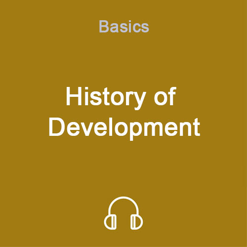 history of development mp3