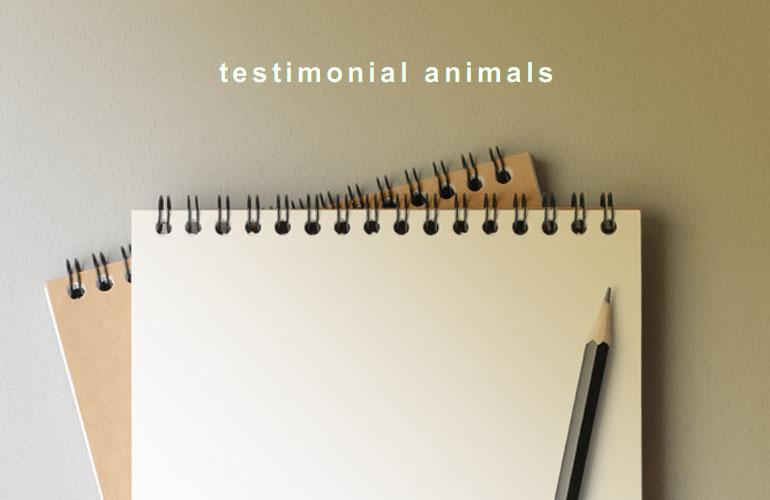 testimonial animals